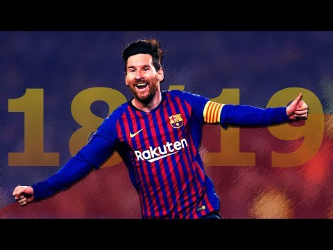 Lionel Messi - All 70 Goals & Assists 2018/2019 - Edit