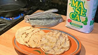How to make Corn Tortillas (Easy Step by Step) Views Recipe