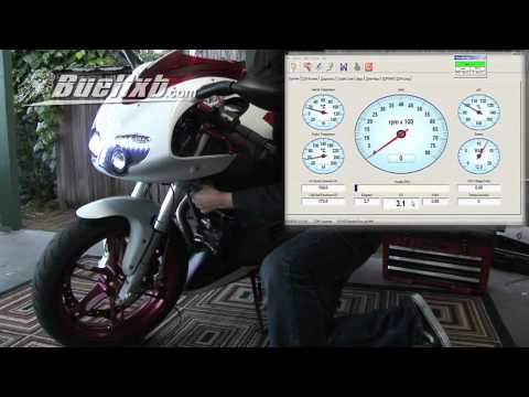 Buell Motorcycle TPS Reset How to Do it Yourself Video