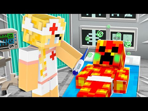 Saving BABY YOUTUBERS in Minecraft!