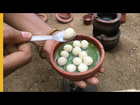 Mini Food Rasgulla Recipe | Tiny Bengali Rasgullas | EP#19 | Miniature Cooking