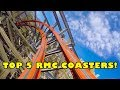 Top 5 RMC Roller Coasters - Rocky Mountain Construction - TPR's 2017 Coaster Poll Results