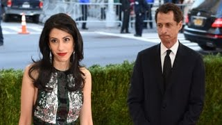 Huma Abedin, Anthony Weiner split after sexting claims
