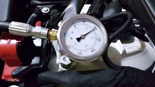 BMW E60 M5 VANOS oil pressure test