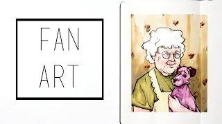 Drawing Fan-Art · 30 Ways To Fill A Sketchbook · SemiSkimmedMin