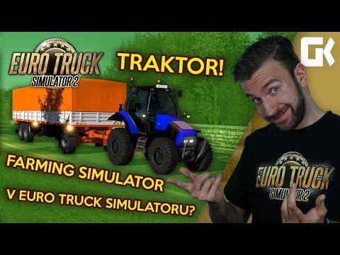 TRAKTOR V ETS2! | Euro Truck Simulator 2 Mod