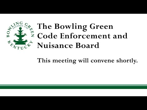 Code Enforcement & Nuisance Board Meeting 02/23/21