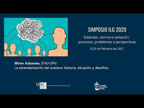 La estandarización del euskara: historia, situación y desafíos