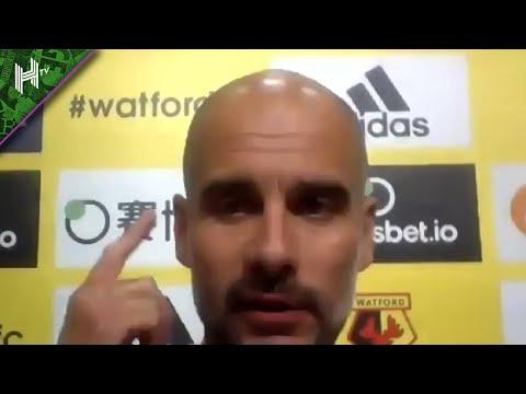 Raheem Sterling is just world class | Watford 0-4 Man City | Pep Guardiola press conference