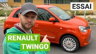 Essai Renault TWINGO électrique : la même en mieux