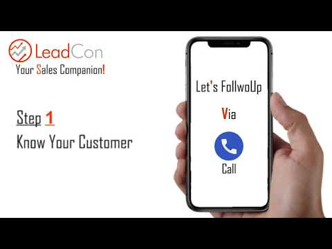 Follow Up Is everything - Why Choose LeadCon?