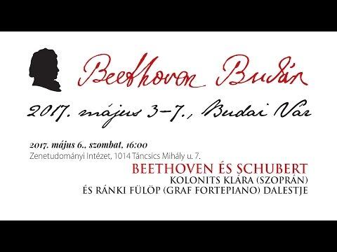 Beethoven Budán 2017 - Beethoven és Schubert - video preview image