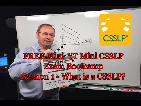 Free Certified Secure Software Lifecycle Pro (CSSLP ... - YouTube