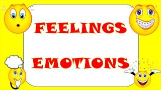 Английский видео-словарь.Эмоции на английском языке.