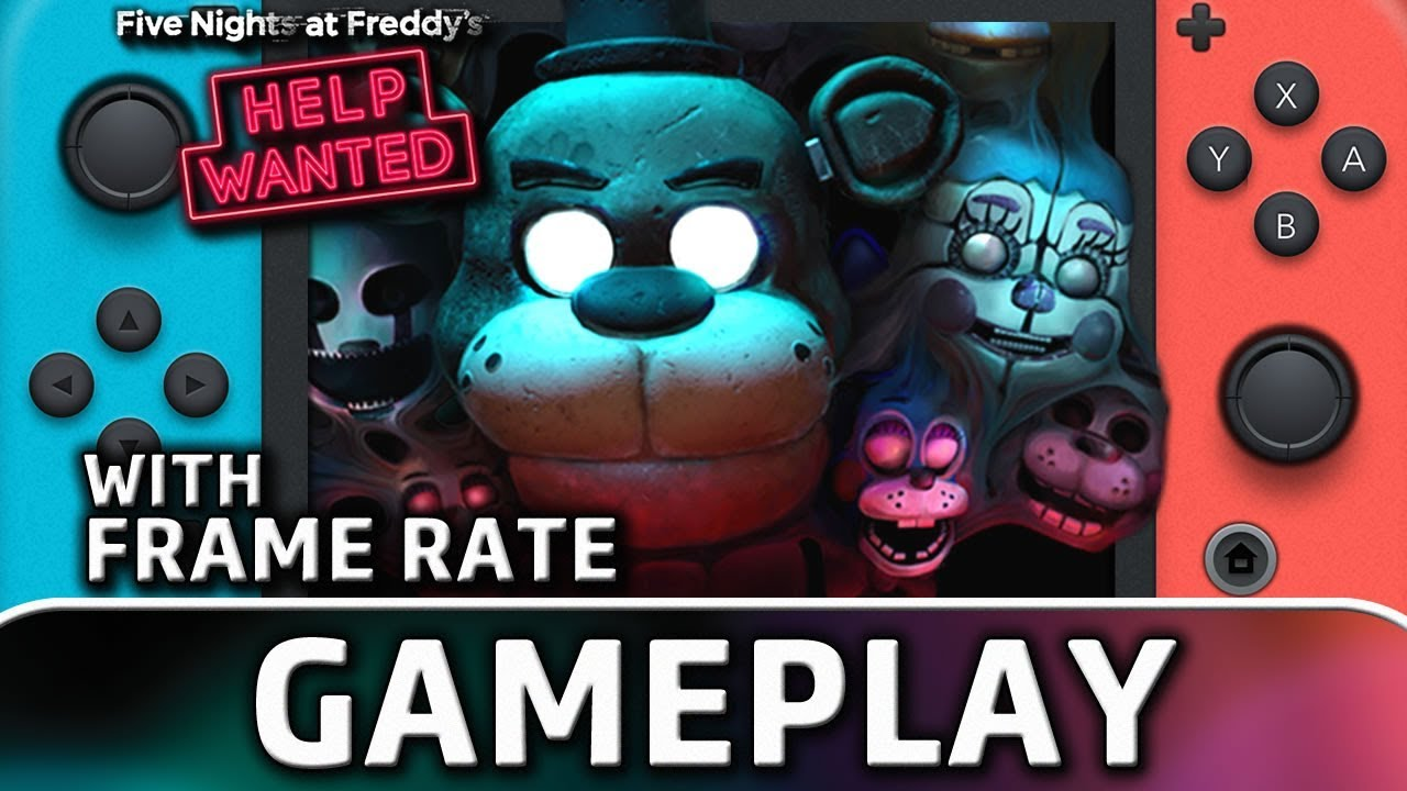Five Nights at Freddy's: Help Wanted   Nintendo Switch Gameplay and Frame Rate