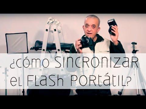Sistemas de disparo para el flash portátil (sincronización)