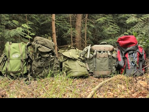 Bushcraft, Hiking & Camping Backpacks - Which one is best for your needs?