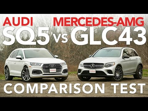2018 Audi SQ5 vs Mercedes-AMG GLC 43 Comparison Test