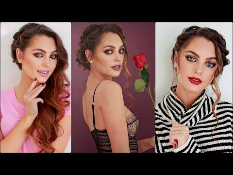 Valentines Day Makeup Hair & Outfits 2018! Drugstore GRWM?