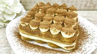 Десерт ТИРАМИСУ в домашних условиях !!! Быстрый РЕЦЕПТ без яиц и выпечки!!! / Dessert TIRAMISU