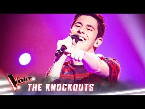 The Knockouts: Zach Fawor sings 'Be The One' | The Voice Australia 2019