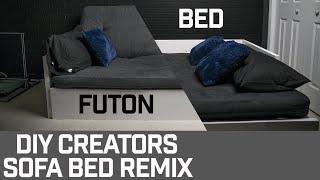 DIY Futon/Bed (DIY Creators Remix)