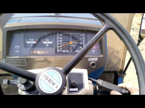 Test drive japanese tractor Iseki TU200f обзор трактора исеки