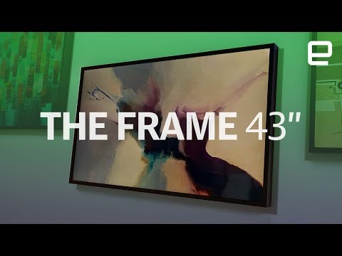 Samsung's The Frame 43-inch TV first look at IFA 2017