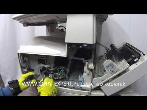 RICOH AF 2035 2045 3035 3045 Laser Unit Replacement Error SC 320 335 336 337 338 DIY