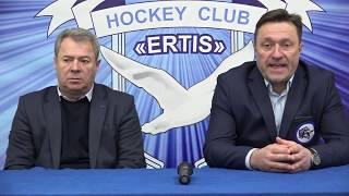ОЧРК 2019/2020 Пресс-конференция ХК «Ertis» - ХК «Qulager», игра № 279