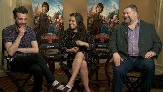 America Ferrer, Jay Baruchel and Director Dean Dublois