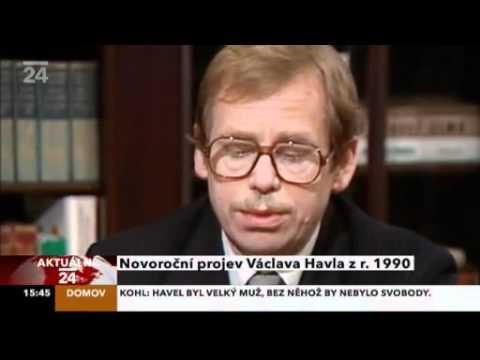 Václav Havel: New Year's Address to the Nation 1990 / Novoroční projev 1990 (English subtitles)