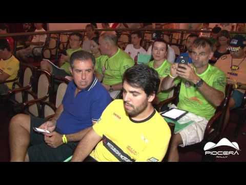 PIOCERA 2017 - BRIEFING T�CNICO QUARTO DIA