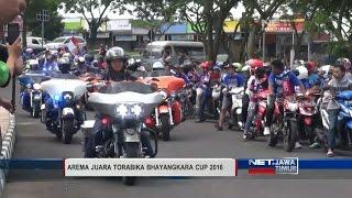 NET JATIM  ARAKARAKAN AREMA JUARA TORABIKA BHAYANGKARA CUP 2016