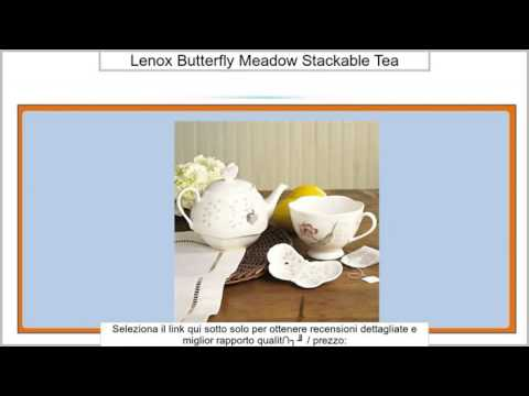 Lenox Butterfly Meadow Stackable Tea-For-One Set by Lenox