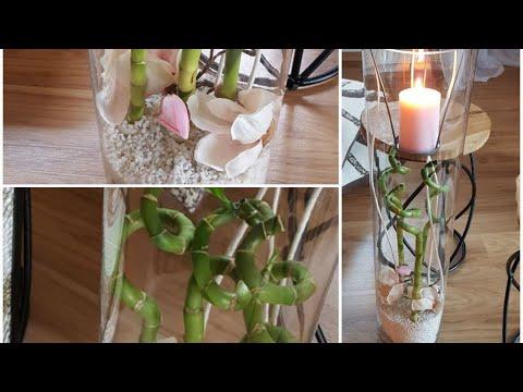Deko im Leonardo Glas ▪Bambus▪Magnolie▪rose/weiss▪    #deko#frühling#dekoideen#magnolie#bambus