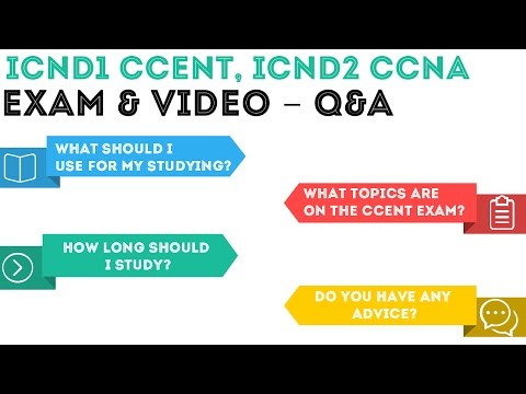CCENT ICND1/ICND2 CCNA - Exam and Video - Q&A Overview .01 ...