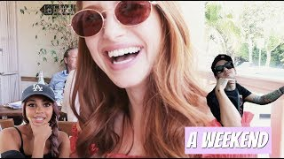 what i do in my spare time w Vanessa Morgan & Travis Mills | Madelaine Petsch