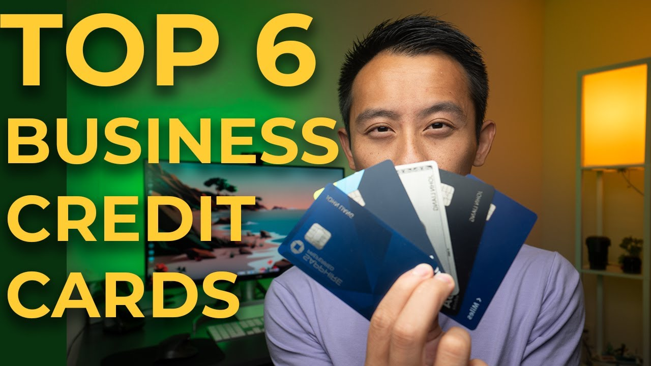 TOP 6 Business Credit Cards (Fall 2021) & BONUS Card to AVOID|Chase|American Express thumbnail