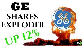 GE STOCK EXPLODES!! | SHARES TRADED AS HIGH AS 12%!!!