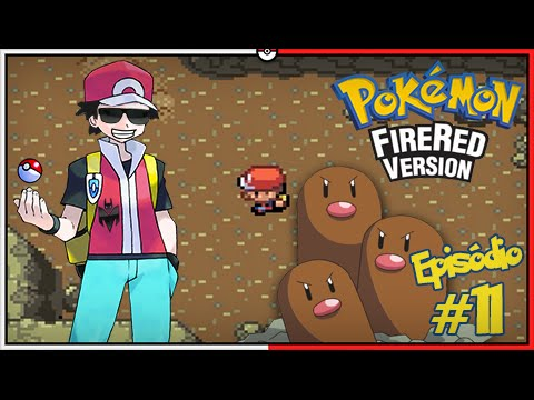 Pokémon Fire Red Let's Play #11: Caverna dos Diglett em Busca do HM Flash