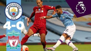 HIGHLIGHTS | Man City 4-0 Liverpool | De Bruyne, Sterling, Foden