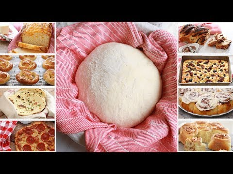 Crazy Dough: One Easy Bread Recipe with Endless Variations – Gemma's Crazy Dough Bread Series Ep 1