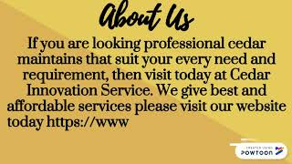 Find Top Best Services for Cedar Maintenance NZ
