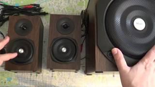 TRUST Vigor 2.1 Speaker Set (Unboxing & Sound Test)