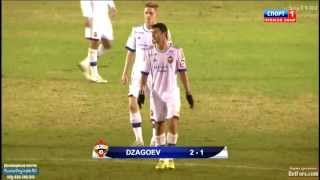 Алан Дзагоев, ПФК ЦСКА 2-1 Норшелланн. (Гол Алана Дзагоева)