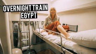 THE BEST TRAIN IN EGYPT | Watania Train | First Class Sleeper - Cairo To Aswan