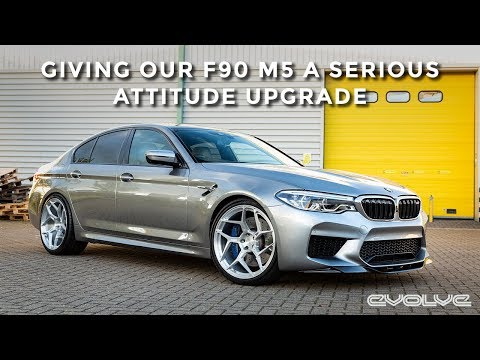 Attitude upgrade for our F90 M5 - RKP Carbon Aero - 6Sixty Forged Wheels - 3D Design Paddles