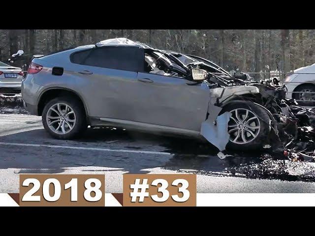 Новые записи с видеорегистратора ДТП и Аварий #33 (20.03.2018)