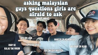 asking malaysian high school boys questions girls are afraid to ask PART ONE